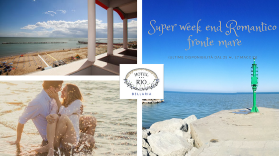 Weekend romantico in riva al mare-regalatevi del tempo solo per voi due!