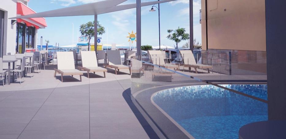 Hotel fronte mare 3 stelle a bellaria igea marina hotel rio - Hotel con piscina bellaria ...