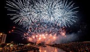 Fuochi d'artificio musicali Bellaria Igea Marina